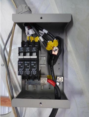 Solar Panel Combiner Box